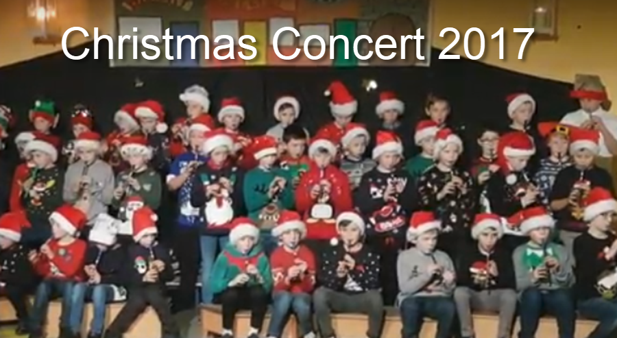 Christmas Concert with 3rd and 4th Class